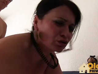 Lezzie grandma act hit the road drive off porn